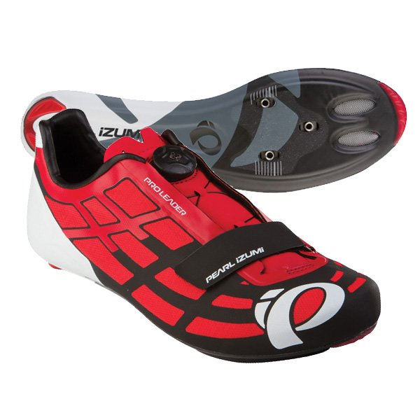 EAN-code: 0703051103750 Brand: PEARL IZUMI Product: SCHOENEN RACE MAAT 38 PRO LEADER II ROOD/ZWART (Part-No: 153140034GQ38.0) at cycleXperience.nl