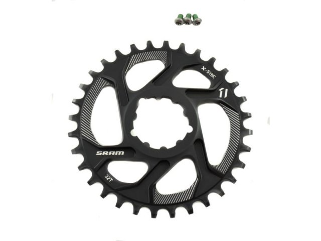 EAN-code: 0710845763915 Brand: SRAM Product: KETTINGBLAD MTB 11SP 32/DIRECT XX1/X01  6MM OFF (Part-No: 701588) at cycleXperience.nl