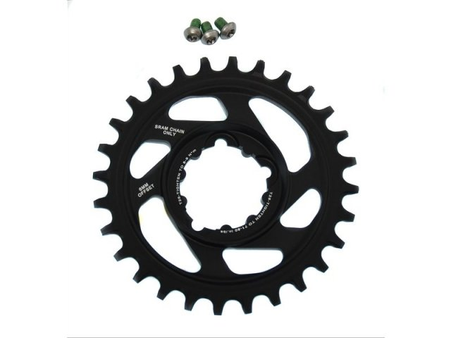 EAN-code: 0710845765759 Brand: SRAM Product: KETTINGBLAD MTB 11SP 28/DIRECT XX1/X01 6MM OFF. (Part-No: 702685) at cycleXperience.nl
