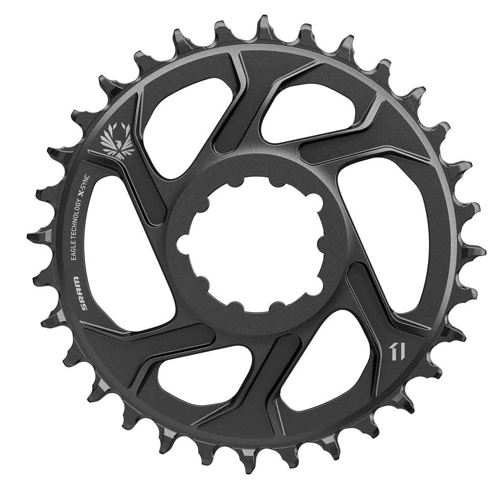 EAN-code: 0710845787430 Brand: SRAM Product: KETTINGBLAD MTB 12SP 32/DIRECT XX1/X01 6MM OFF. (Part-No: 706599) at cycleXperience.nl