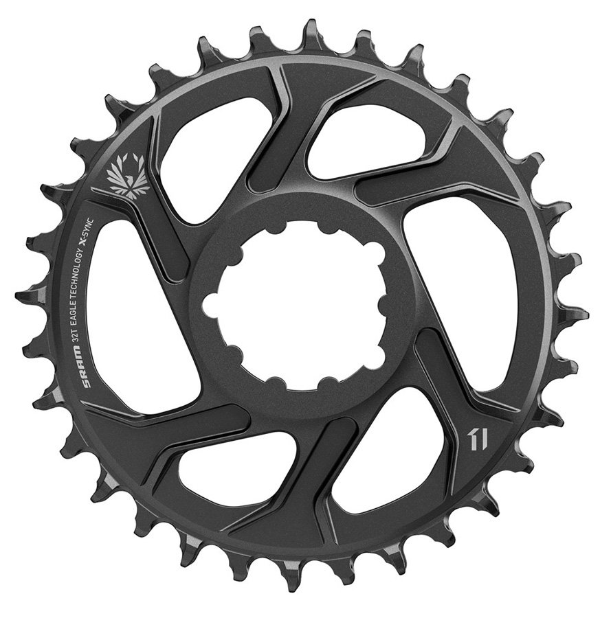 EAN-code: 0710845808548 Brand: SRAM Product: KETTINGBLAD MTB 12SP 32/DIRECT GX EAGLE 6MM OFF. (Part-No: 711566) at cycleXperience.nl