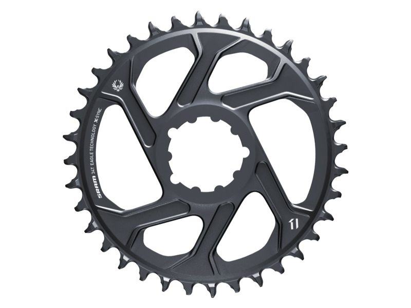 EAN-code: 0710845827235 Brand: SRAM Product: KETTINGBLAD 34T XSYNC 12SP ALUMINIUM 6MM GREY (Part-No: 719314) at cycleXperience.nl