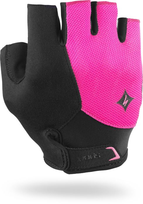 EAN-code: 0719676103952 Brand: SPECIALIZED Product: HANDSCHOEN ZOMER MAAT S BG SPORT DAMES ZWART/ROZE (Part-No: 67015-1712) at cycleXperience.nl
