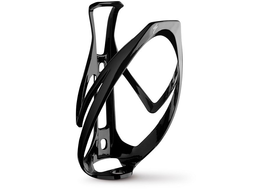EAN-code: 0719676119458 Brand: SPECIALIZED Product: BIDONHOUDER RIB CAGE II GLOSS ZWART (Part-No: 43015-1000) at cycleXperience.nl