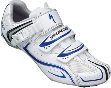 EAN-code: 0719676640242 Brand: SPECIALIZED Product: SCHOENEN RACE MAAT 45 ELITE WIT/BLAUW (Part-No: 6109-4845) at cycleXperience.nl