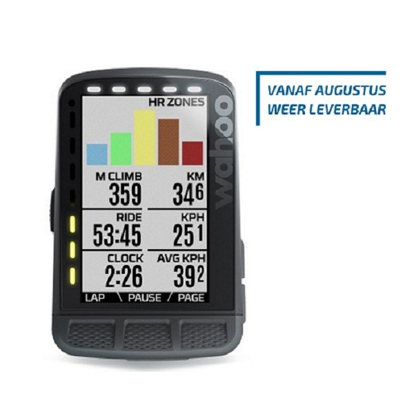 EAN-code: 0853988006652 Brand: WAHOO Product: FIETSNAVIGATIE ELEMNT ROAM (Part-No: WFCC4) at cycleXperience.nl