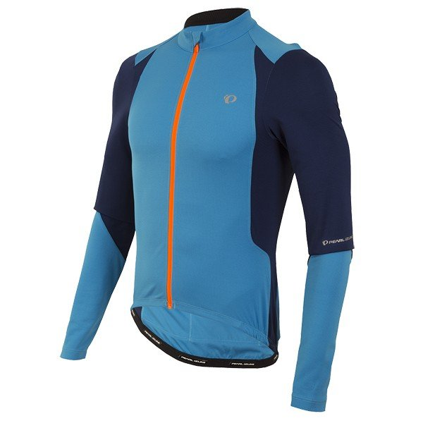 EAN-code: 0888687528136 Brand: PEARL IZUMI Product: SHIRT L.M. MAAT M SELECT PURSUIT BLAUW (Part-No: 111216095KKM) at cycleXperience.nl