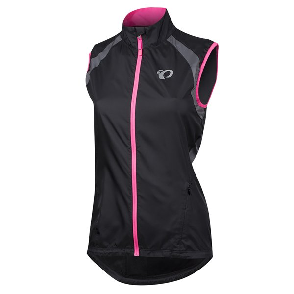 EAN-code: 0888687773086 Brand: PEARL IZUMI Product: WINDVEST MAAT L ELITE BARRIER DAMES ZWART/ROZE (Part-No: 112315065FHL) at cycleXperience.nl