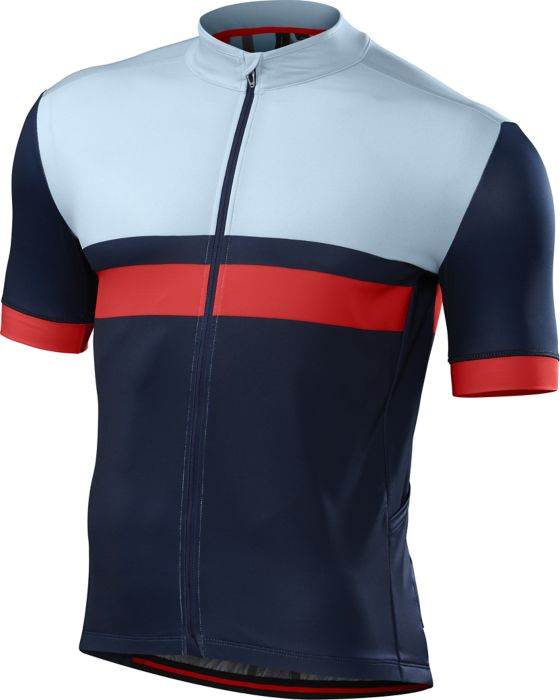 EAN-code: 0888818103034 Brand: SPECIALIZED Product: SHIRT K.M. MAAT XL ROUBAIX PRO NAVY/ROOD (Part-No: 64116-4055) at cycleXperience.nl