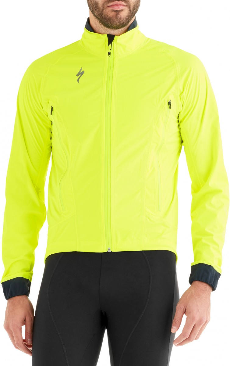 EAN-code: 0888818282500 Brand: SPECIALIZED Product: REGENJAS MAAT XL DFLECT H2O FLUOR GEEL (Part-No: 64418-6025) at cycleXperience.nl