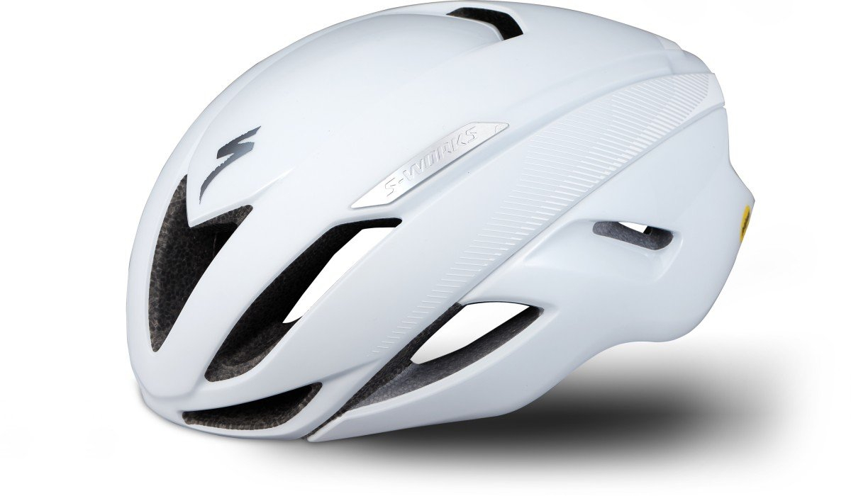 EAN-code: 0888818454723 Brand: SPECIALIZED Product: HELM MAAT M S-WORKS EVADE II ANGI MIPS WIT (Part-No: 60719-1043) at cycleXperience.nl