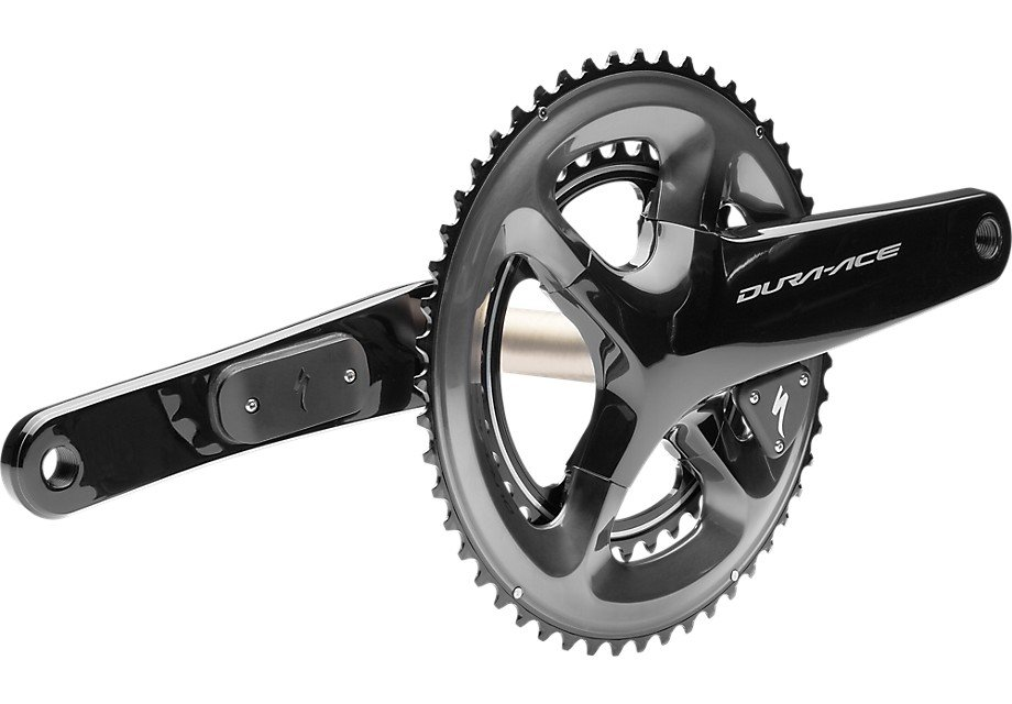 EAN-code: 0888818455553 Product: POWER CRANKSET DURA-ACE R9100 SPECIALIZED DUAL SIDED 52/36T 172.5MM at cycleXperience.nl