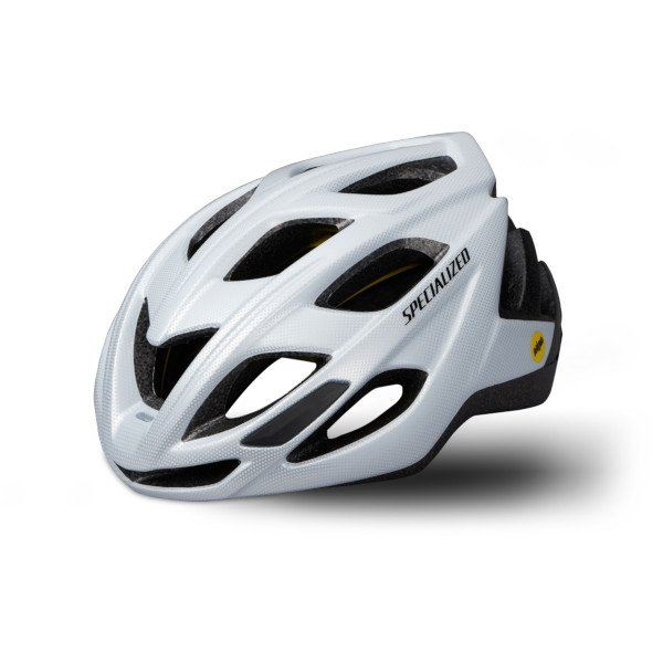 EAN-code: 0888818463343 Brand: SPECIALIZED Product: HELM MAAT M/L CHAMONIX MIPS GLOSS WIT (Part-No: 60819-1423) at cycleXperience.nl