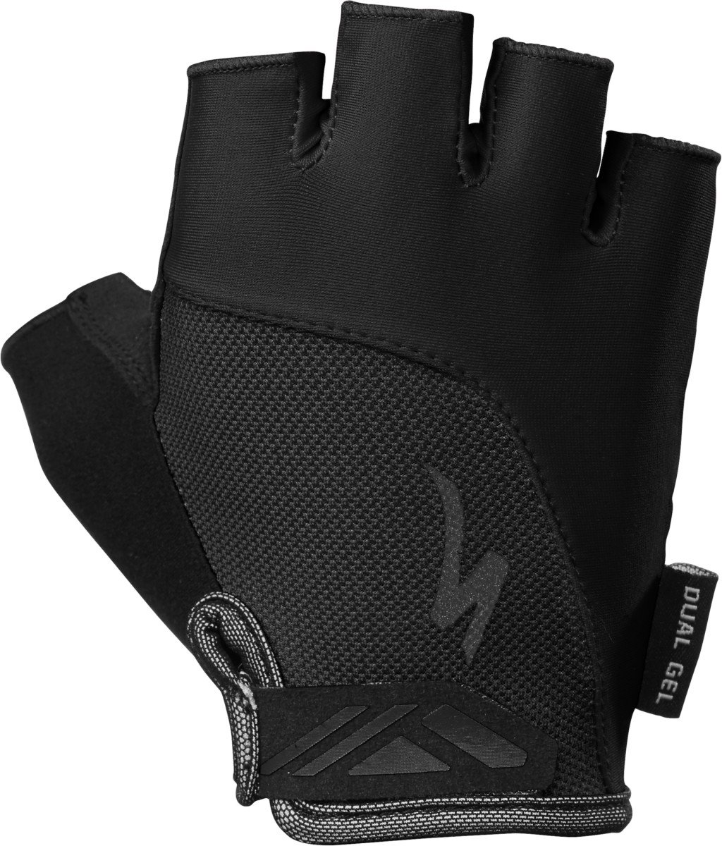 EAN-code: 0888818471409 Brand: SPECIALIZED Product: HANDSCHOEN MAAT S BG DUAL GEL DAMES ZWART (Part-No: 67019-1102) at cycleXperience.nl