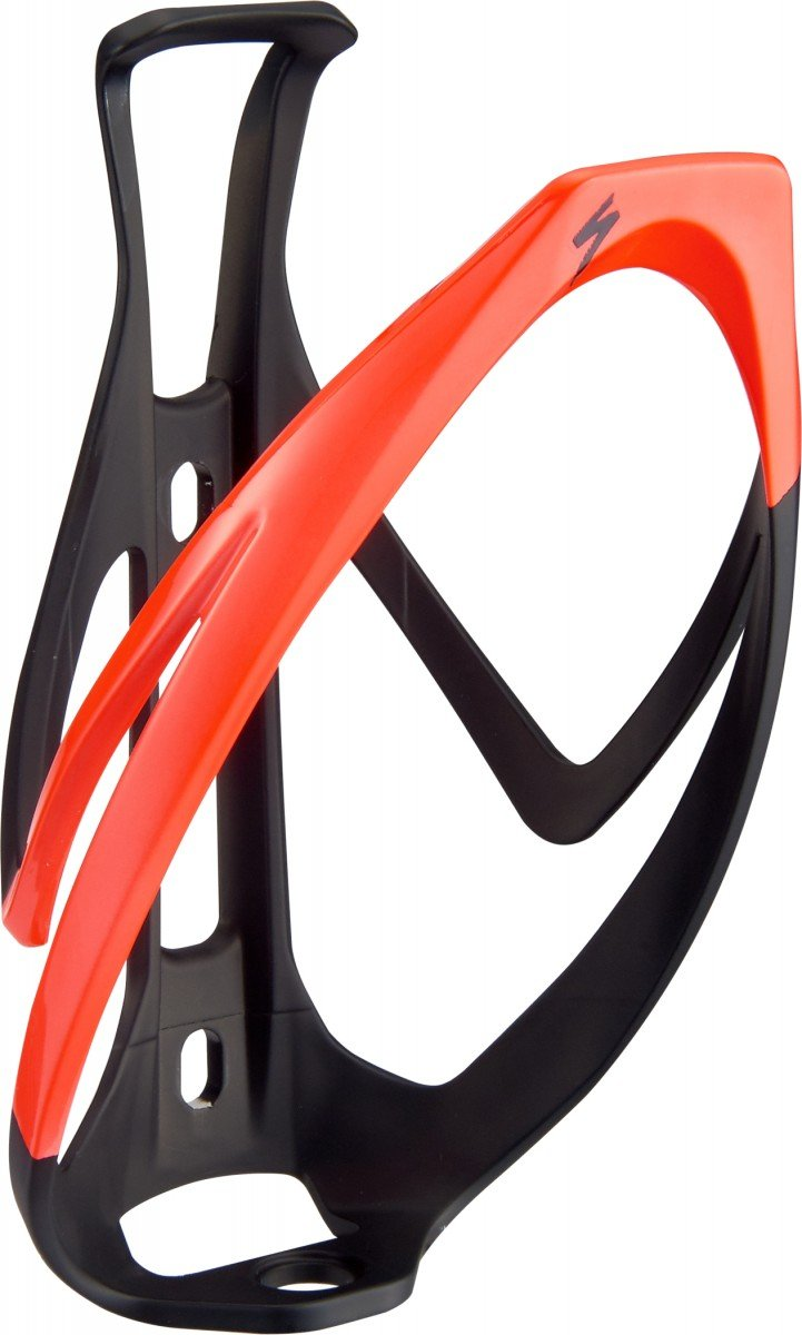 EAN-code: 0888818539000 Brand: SPECIALIZED Product: BIDONHOUDER RIB CAGE II MAT ZWART/ROOD (Part-No: 43020-1005) at cycleXperience.nl