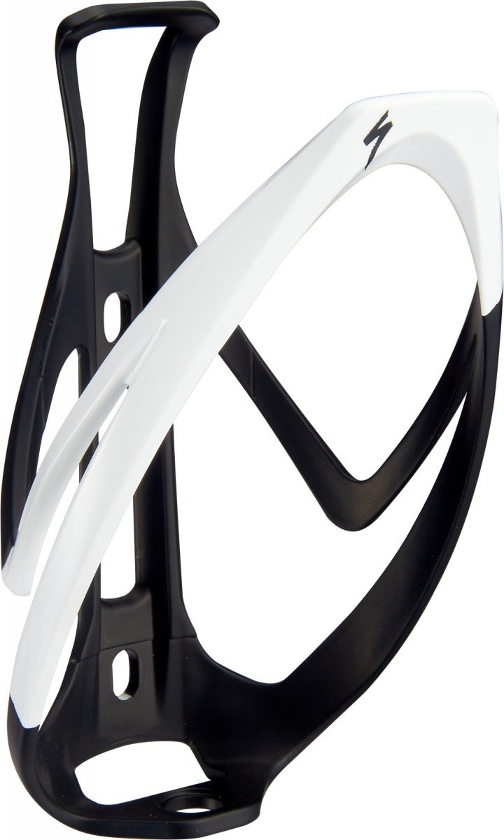 EAN-code: 0888818539208 Brand: SPECIALIZED Product: BIDONHOUDER RIB CAGE II MAT ZWART/WIT (Part-No: 43020-1006) at cycleXperience.nl