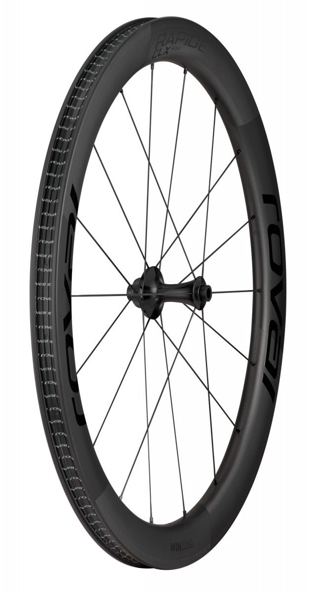 EAN-code: 0888818572250 Brand: SPECIALIZED Product: RAPIDE CLX FRONT SATIN CARBON/ZWART (Part-No: 30020-6501) at cycleXperience.nl
