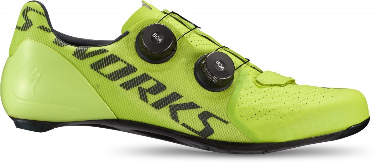 EAN-code: 0888818575404 Brand: SPECIALIZED Product: SCHOENEN RACE MAAT 41.5 S-WORKS 7 HYPER (Part-No: 61020-04415) at cycleXperience.nl