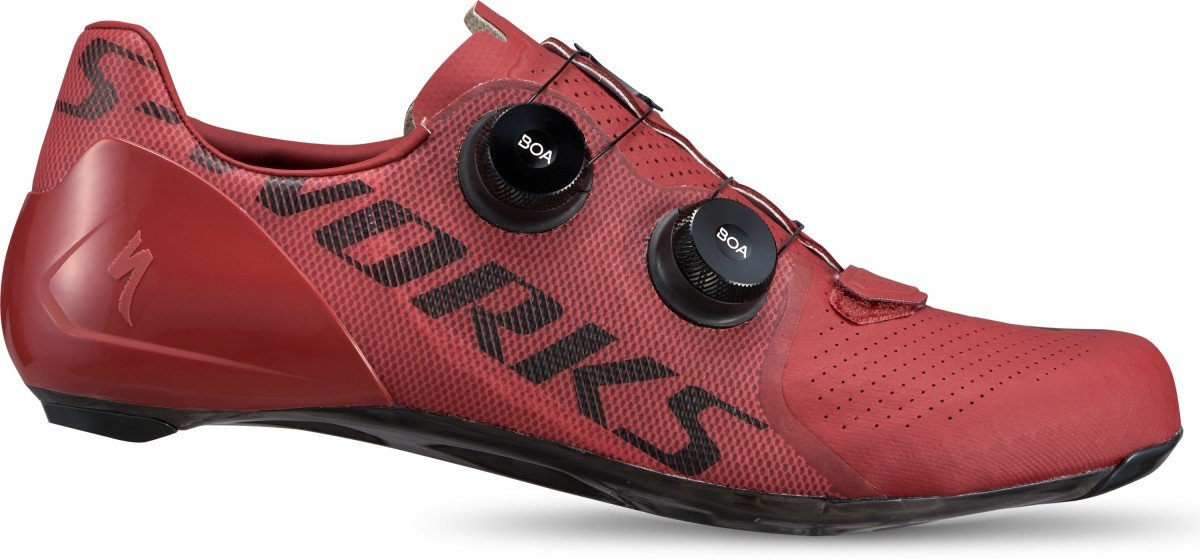 EAN-code: 0888818587698 Brand: SPECIALIZED Product: SCHOENEN RACE MAAT 41.5 S-WORKS 7 CRIMSON (Part-No: 61020-08415) at cycleXperience.nl