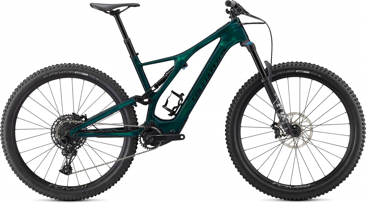 EAN-code: 0888818648412 Product: SPECIALIZED LEVO SL COMP CARBON, GREEN TINT / BLACK (Part-No: 96821-5304) at cycleXperience.nl