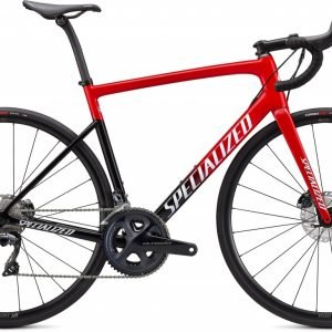 EAN-code: 0888818654536 Product: SPECIALIZED TARMAC SL6 COMP, RED TINT FADE / WHITE WITH GOLD PEARL (Part-No: 90621-5052) at cycleXperience.nl