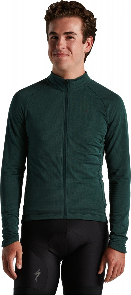 EAN-code: 0888818656035 Brand: SPECIALIZED Product: PRIME-SERIES THERMAL JERSEY LS MEN FSTGRN XL (Part-No: 64921-0615) at cycleXperience.nl