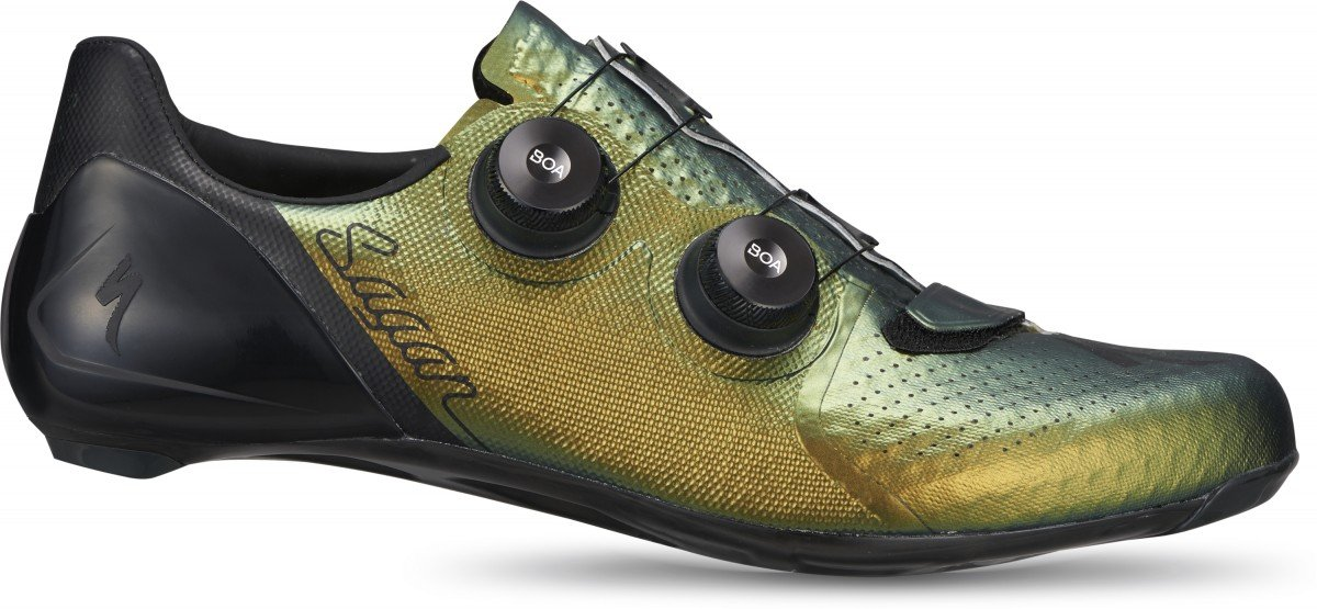 EAN-code: 0888818663194 Brand: SPECIALIZED Product: SCHOENEN RACE MAAT 43 S-WORKS 7 SAGAN GREEN  LIMITED (Part-No: 61020-7743) at cycleXperience.nl