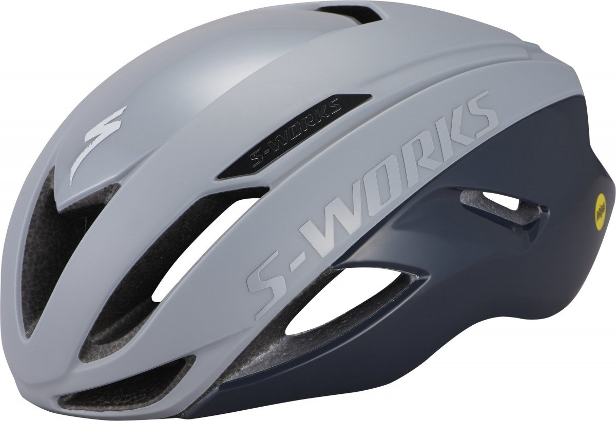 EAN-code: 0888818668755 Brand: SPECIALIZED Product: HELM MAAT M S-WORKS EVADE ANGI MIPS COOL GREY/SLATE (Part-No: 60721-1023) at cycleXperience.nl