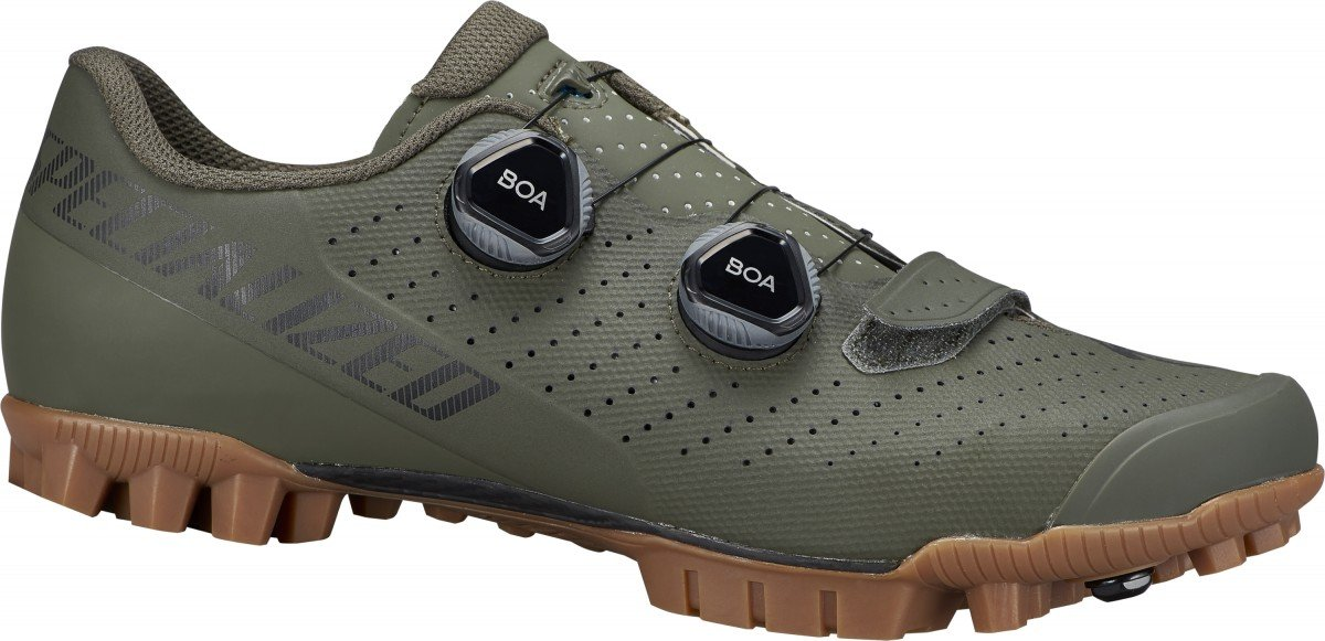 EAN-code: 0888818686353 Brand: SPECIALIZED Product: SCHOENEN MTB MAAT 43 RECON 3.0 OAK GREEN (Part-No: 61521-2143) at cycleXperience.nl
