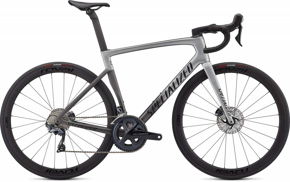 EAN-code: 0888818696734 Product: SPECIALIZED TARMAC SL7 EXPERT, LIGHT SILVER / SMOKE FADE / BLACK (Part-No: 94920-3554) at cycleXperience.nl