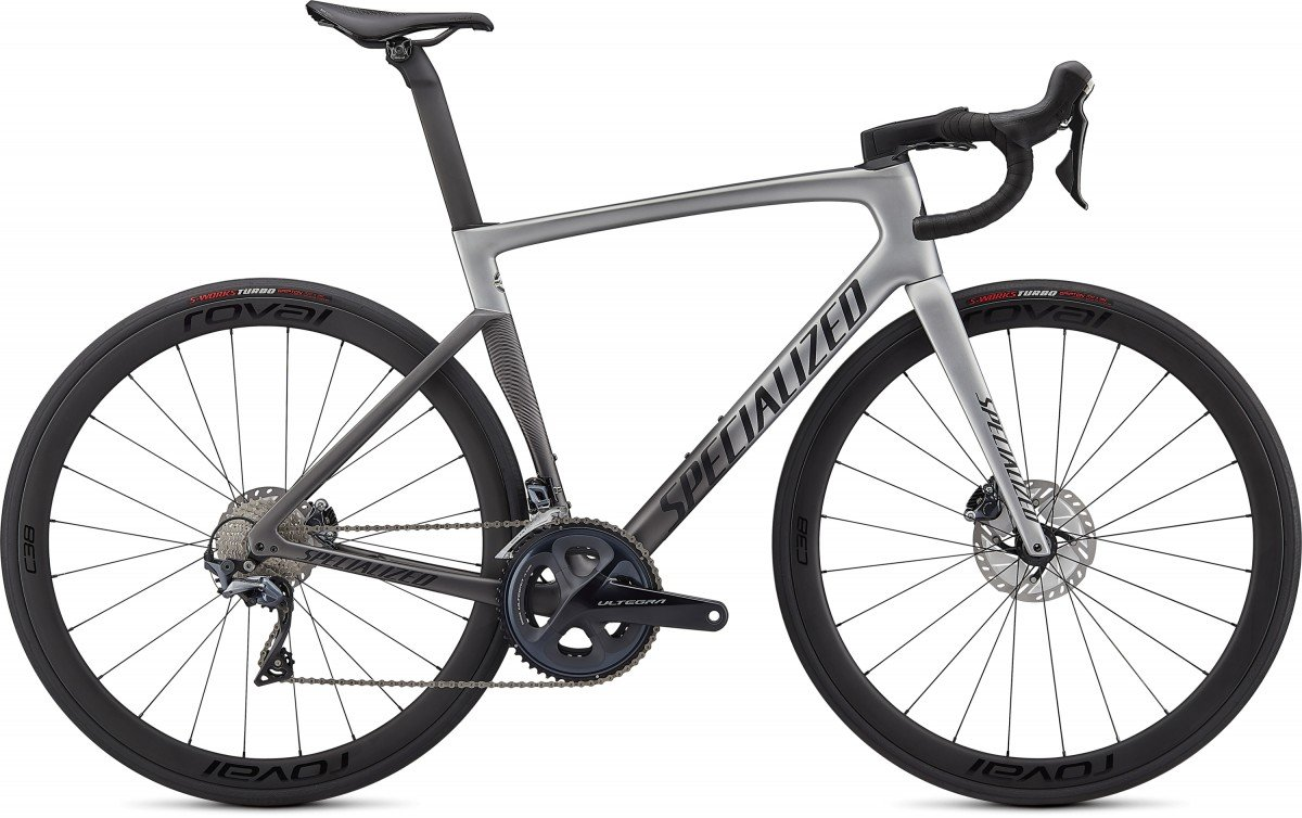 EAN-code: 0888818696826 Product: SPECIALIZED TARMAC SL7 EXPERT,  LIGHT SILVER / SMOKE FADE / BLACK (Part-No: 94920-3552) at cycleXperience.nl