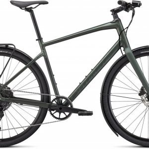 EAN-code: 0888818723515 Product: SPECIALIZED SIRRUS X 4.0 EQ, SATIN OAK GREEN METALLIC / BLACK REFLECTIVE (Part-No: 92421-5302) at cycleXperience.nl