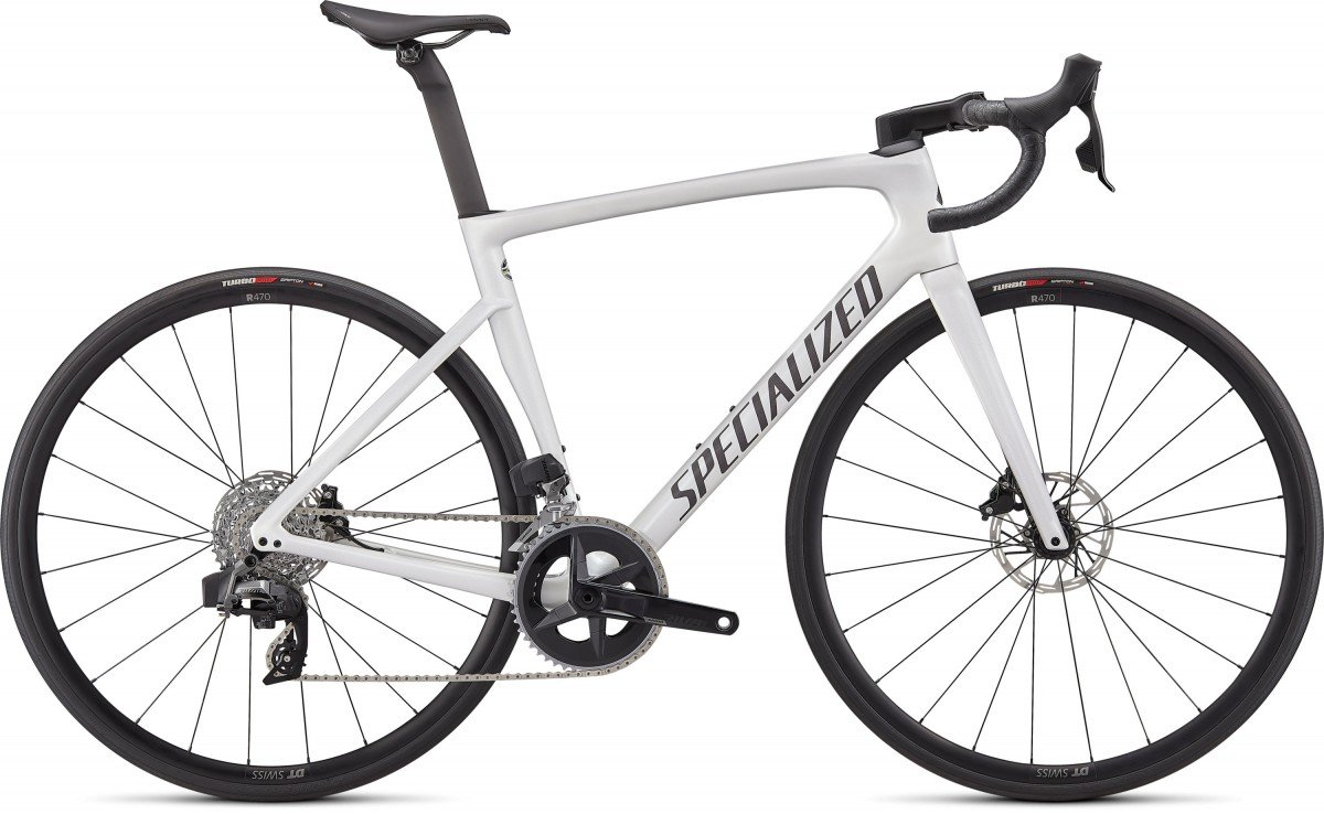 EAN-code: 0888818757022 Product: SPECIALIZED TARMAC SL7 COMP - RIVAL ETAP AXS, GLOSS METALLIC WHITE SILVER / SMOKE (Part-No: 90622-5154) at cycleXperience.nl
