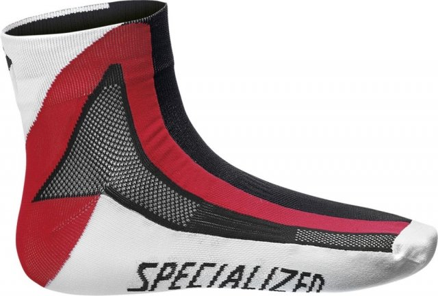 EAN-code: 1000000286212 Brand: SPECIALIZED Product: SOKKEN MAAT L ZWART/ROOD/WIT (Part-No: 644-53644) at cycleXperience.nl