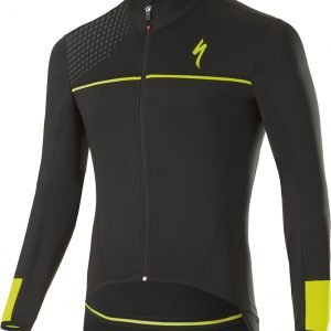 EAN-code: 1000000933239 Brand: SPECIALIZED Product: WINTERJACKET MAAT L ELEMENT SL ELITE RACE BLACK/NEON YELLOW (Part-No: 644-75894) at cycleXperience.nl