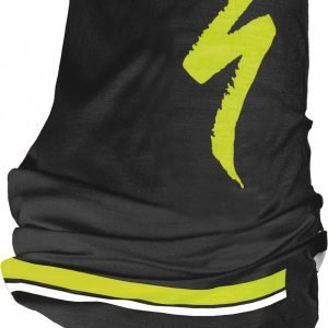 EAN-code: 1000001056111 Brand: SPECIALIZED Product: BANDANA TUBULAR S-LOGO BLK/NEON YEL/WHT (Part-No: 644-7988) at cycleXperience.nl