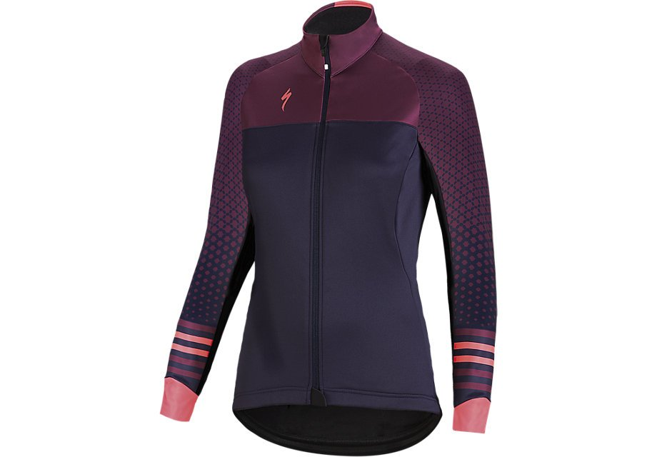 EAN-code: 1000001158464 Brand: SPECIALIZED Product: WINTERJACKET MAAT XS ELEMENT ROUBAIX COMP DAMES PAARS/ROZE (Part-No: 644-81731) at cycleXperience.nl