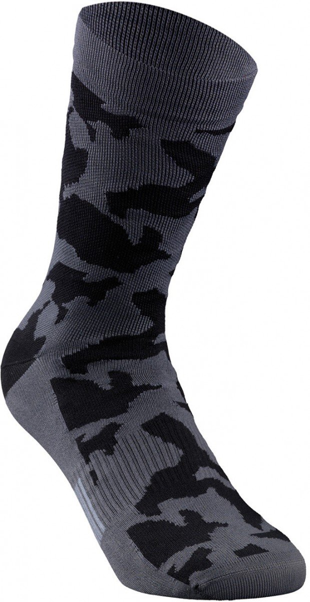 EAN-code: 1000001306865 Brand: SPECIALIZED Product: SOKKEN MAAT M CAMO SUMMER SOCK ANTH/BLK/RKTRED (Part-No: 644-85063) at cycleXperience.nl