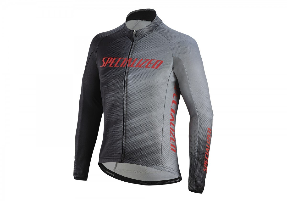 EAN-code: 1000001431161 Brand: SPECIALIZED Product: SHIRT L.M MAAT M ROUBAIX ELEMENT COMP ZWART/GRIJS (Part-No: 644-85623) at cycleXperience.nl