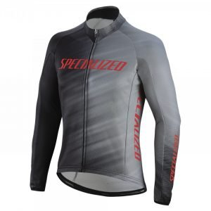 EAN-code: 1000001431567 Brand: SPECIALIZED Product: SHIRT L.M MAAT S ROUBAIX COMP ZWART/GRIJS (Part-No: 644-85662) at cycleXperience.nl