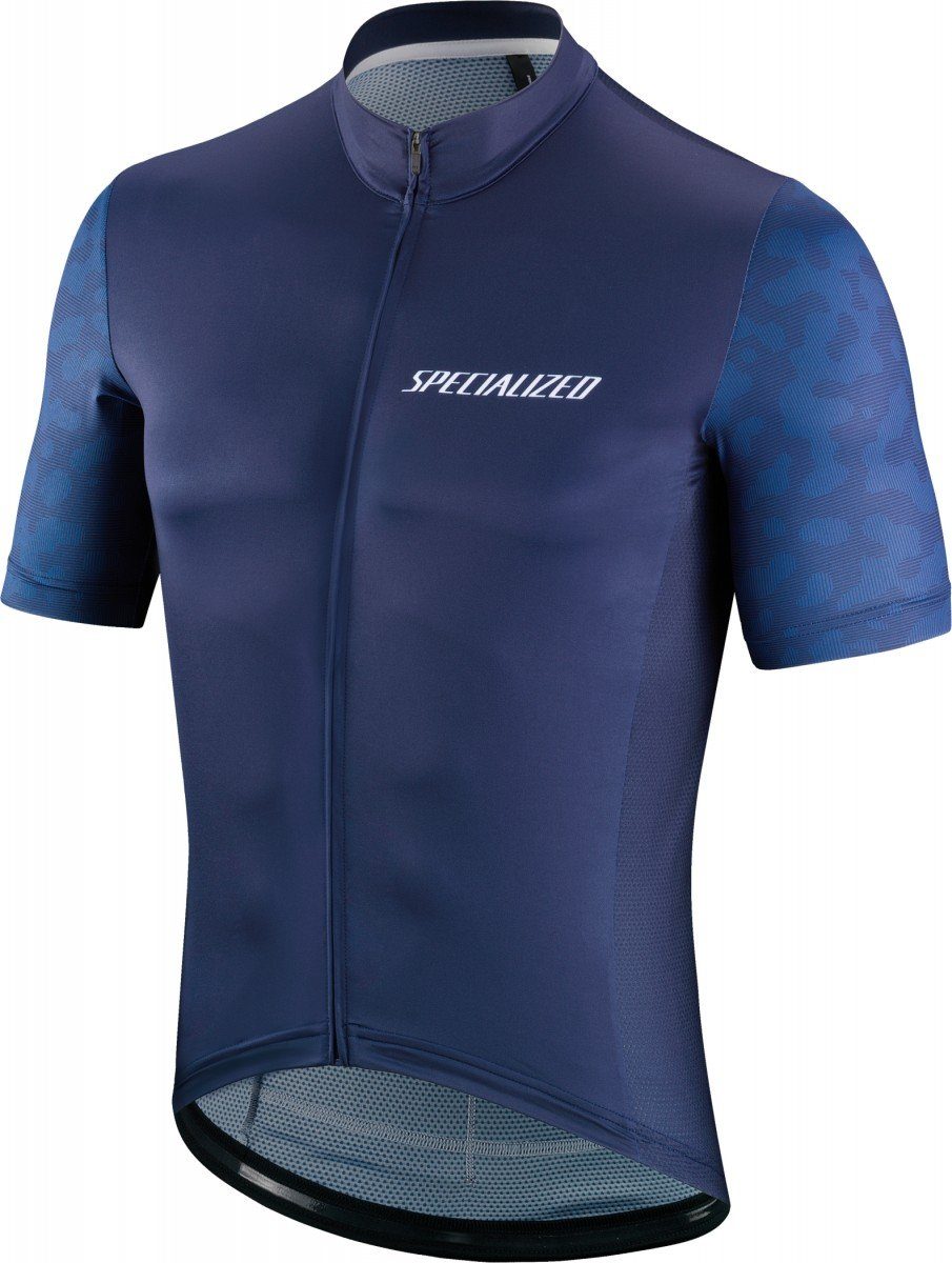 EAN-code: 1000001530208 Brand: SPECIALIZED Product: RBX COMP TERRAIN JERSEY SS NVY/BLU XXL (Part-No: 644-87146) at cycleXperience.nl
