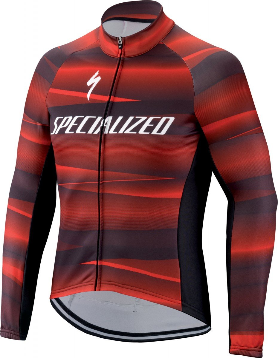 EAN-code: 1000001619903 Brand: SPECIALIZED Product: SHIRT L.M. MAAT L THERMINAL SL TEAM EXPERT ZWART/ROOD (Part-No: 644-89924) at cycleXperience.nl