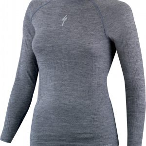 EAN-code: 1000001623023 Brand: SPECIALIZED Product: ONDERKLEDING L.M. MAAT S/M MERINO NAADLOOS DAMES GRIJS (Part-No: 644-90312) at cycleXperience.nl
