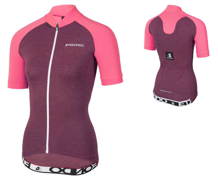 EAN-code: 1801000340917 Brand: ETXEONDO Product: SHIRT K.M. MAAT M TERRA DAMES ROZE (Part-No: 713437) at cycleXperience.nl