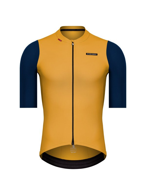 EAN-code: 1801001477698 Brand: ETXEONDO Product: SHIRT K.M. MAAT M ALDE GEEL/PETROLEUM (Part-No: 721365) at cycleXperience.nl