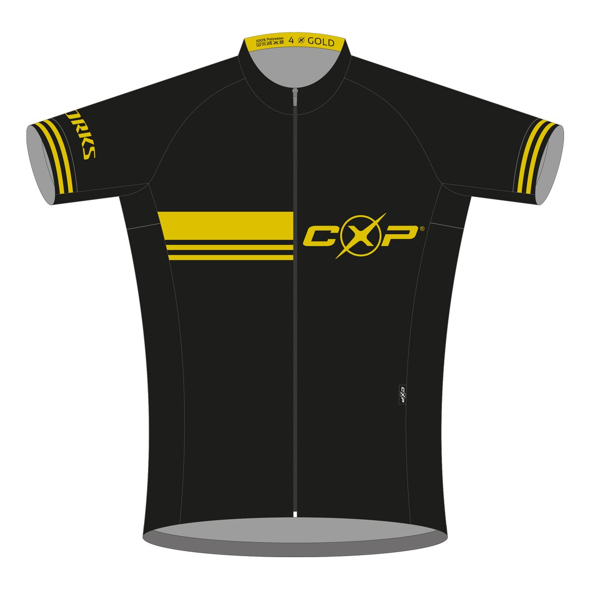 EAN-code: 2181002383525 Brand: CXP Product: SHIRT K.M. S-WORKS GOLD+ at cycleXperience.nl