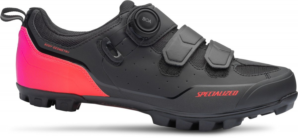 EAN-code: 2181002754899 Brand: SPECIALIZED Product: SCHOENEN MTB COMP DAMES  ZWART/ACID LAVA at cycleXperience.nl