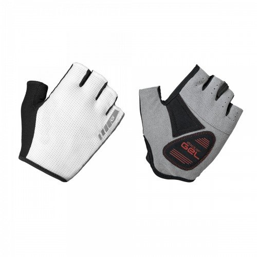 EAN-code: 2181002937285 Brand: GRIPGRAB Product: HANDSCHOENEN EASY RIDER WIT at cycleXperience.nl
