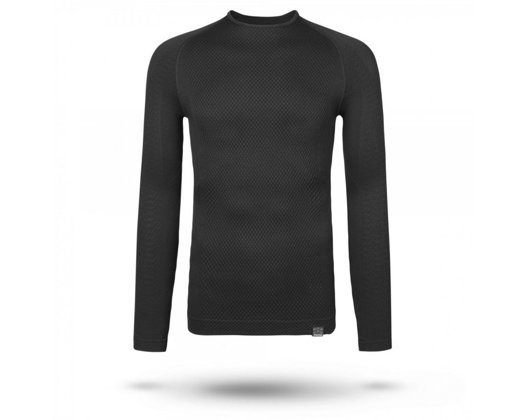 EAN-code: 2181002937568 Brand: GRIPGRAB Product: ONDERSHIRT L.M. EXPERT SEAMLESS THERMAL ZWART at cycleXperience.nl