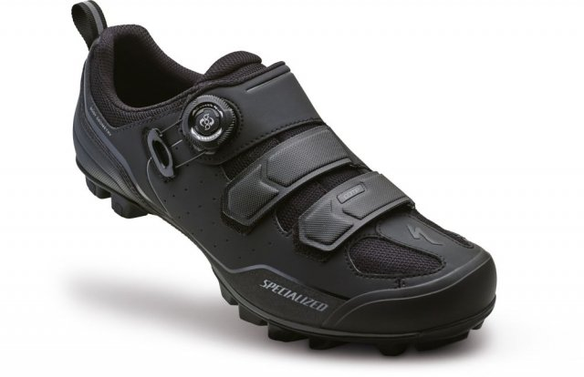 EAN-code: 2181002944801 Brand: SPECIALIZED Product: SCHOENEN MTB COMP ZWART/GRIJS at cycleXperience.nl
